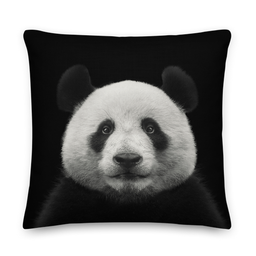 22×22 Panda Square Premium Pillow by Design Express