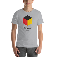 "Silver / S Germany ""Cubist"" Unisex T-Shirt by Design Express"
