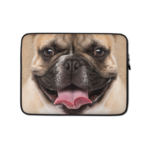 13 in French Bulldog Laptop Sleeve by Design Express