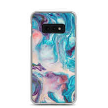 Samsung Galaxy S10e Blue Multicolor Marble Samsung Case by Design Express