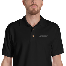 Black / S Fish Key West Embroidered Polo Shirt by Design Express