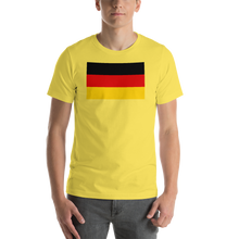 Yellow / S Germany Flag Short-Sleeve Unisex T-Shirt by Design Express