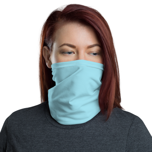 Default Title Baby Blue Neck Gaiter Masks by Design Express