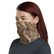 Snake Skin 03 Neck Gaiter Masks by Design Express
