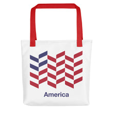 "Red America ""Barley"" Tote bag Totes by Design Express"