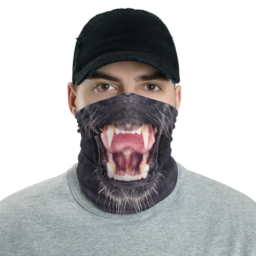 Default Title Black Panther Neck Gaiter Masks by Design Express