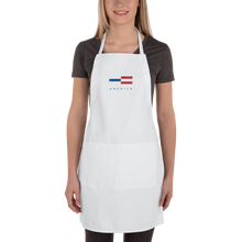 America Tower Pattern Embroidered Apron