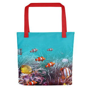 "Red Sea World 01 ""All Over Animal"" Tote bag Totes by Design Express"