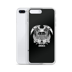 United States Of America Eagle Illustration Reverse iPhone Case iPhone Cases by Design Express