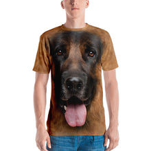 "XS German Shepherd Dog ""All Over Animal"" Men's T-shirt All Over T-Shirts by Design Express"