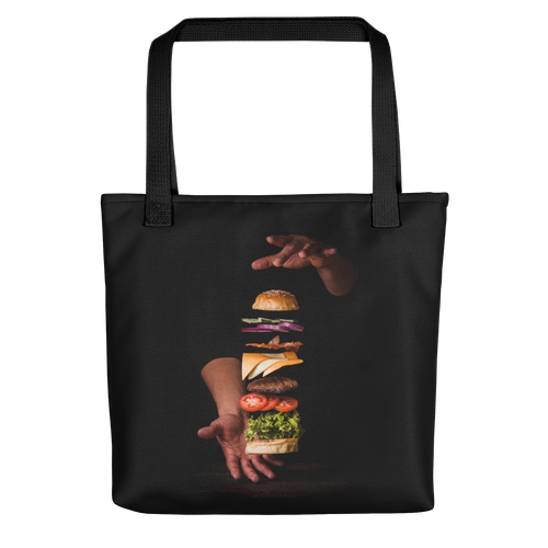 Default Title Burger Tote bag by Design Express