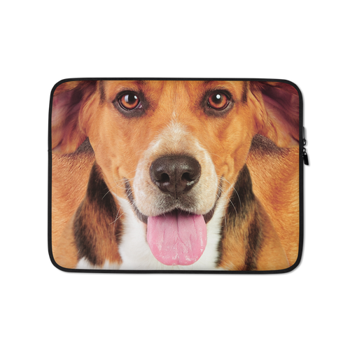 13 in Beagle Dog Laptop Sleeve by Design Express
