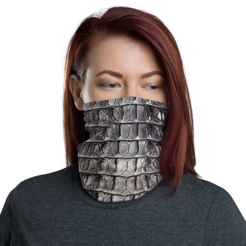 Default Title Croc Texture Neck Gaiter Masks by Design Express