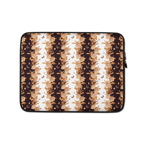 13 in Gold Baroque Laptop Sleeve by Design Express