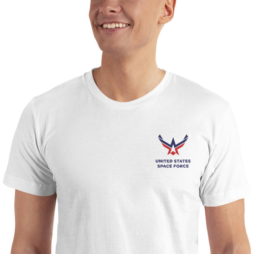 S United States Space Force Embroidered T-Shirt by Design Express
