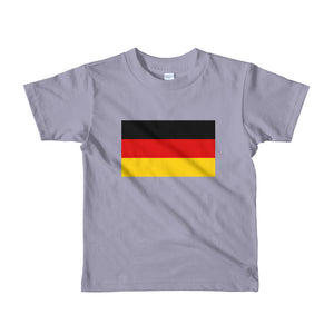 Slate / 2yrs Germany Flag Short sleeve kids t-shirt by Design Express