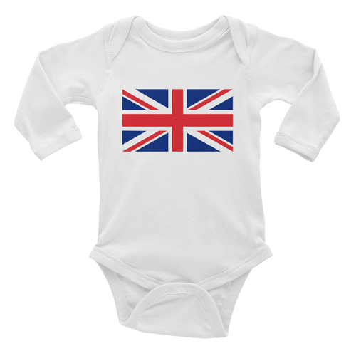 White / 6M United Kingdom Flag