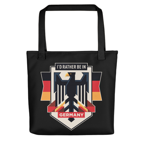 Default Title Eagle Germany Tote Bag by Design Express
