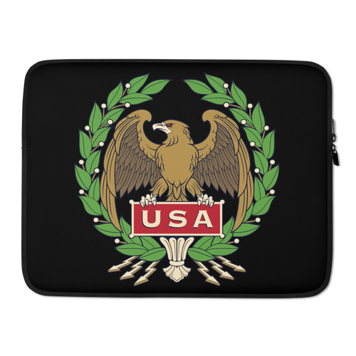 15 in USA Eagle Laptop Sleeve by Design Express