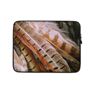 13 in Pheasant Feathers Laptop Sleeve by Design Express