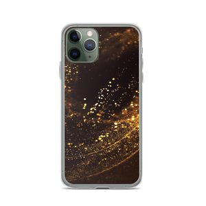 iPhone 11 Pro Gold Swirl iPhone Case by Design Express