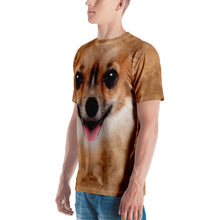 "Chihuahua Dog ""All Over Animal"" Men's T-shirt"