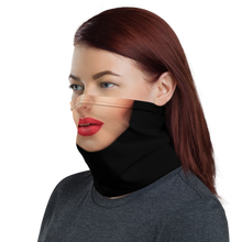 Woman with Red Lips Neck Gaiter Masks by Design Express
