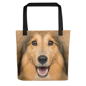 Default Title Shetland Sheepdog Dog Tote bag Totes by Design Express