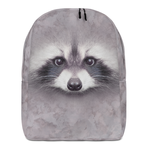 Default Title Racoon Minimalist Backpack by Design Express