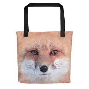 "Black Red Fox ""All Over Animal"" Tote bag Totes by Design Express"