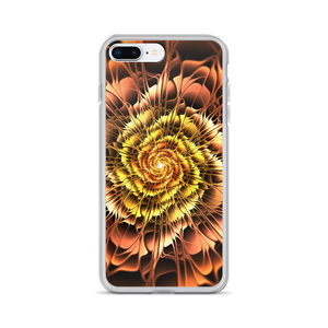 iPhone 7 Plus/8 Plus Abstract Flower 01 iPhone Case by Design Express