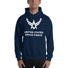 "Navy / S United States Space Force ""Reverse"" Hooded Sweatshirt by Design Express"