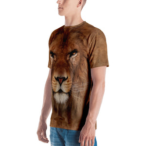"Lion ""All Over Animal"" Men's T-shirt All Over T-Shirts by Design Express"