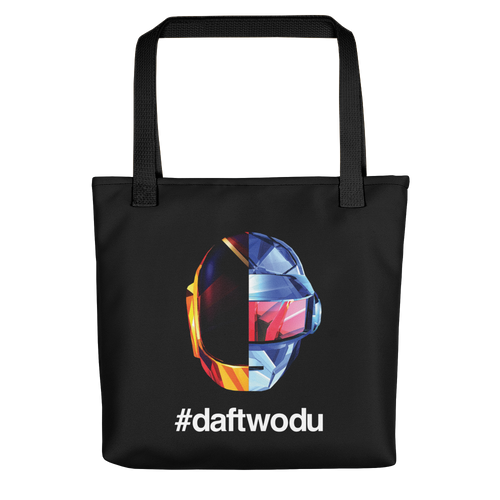 Black Daft Wodu Tote bag Totes by Design Express