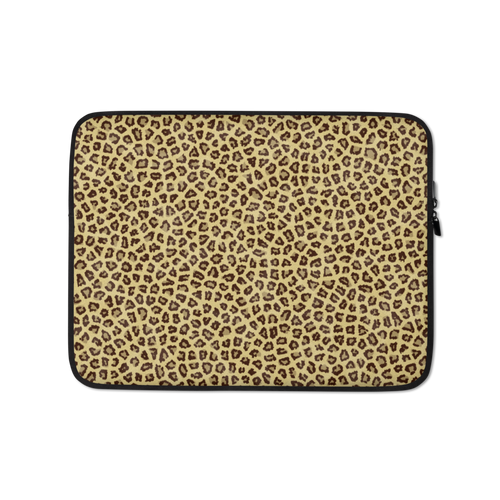 13 in Small Leopard Print Laptop Sleeve by Design Express