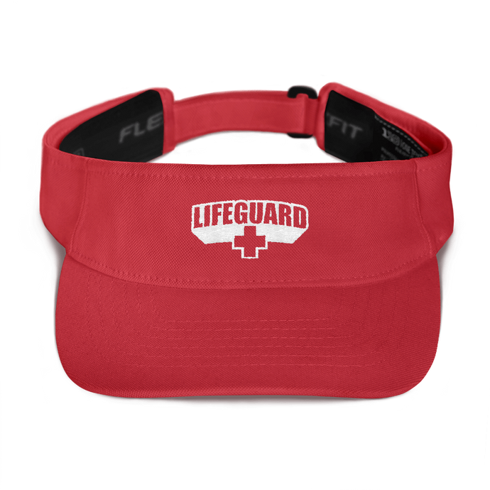 Lifeguard Classic Red Visor