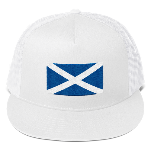 White Scotland Flag