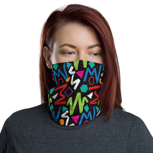 Default Title Pop Geometrical Pattern 02 Neck Gaiter Masks by Design Express
