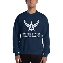 "Navy / S United States Space Force ""Reverse"" Sweatshirt by Design Express"