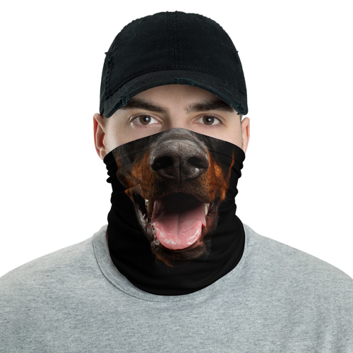 Default Title Doberman Dog Neck Gaiter Masks by Design Express