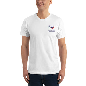 United States Space Force Embroidered T-Shirt by Design Express
