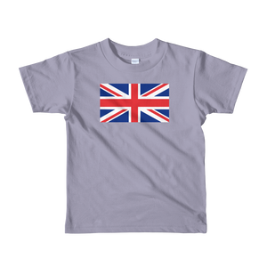 "Slate / 2yrs United Kingdom Flag ""Solo"" Short sleeve kids t-shirt by Design Express"