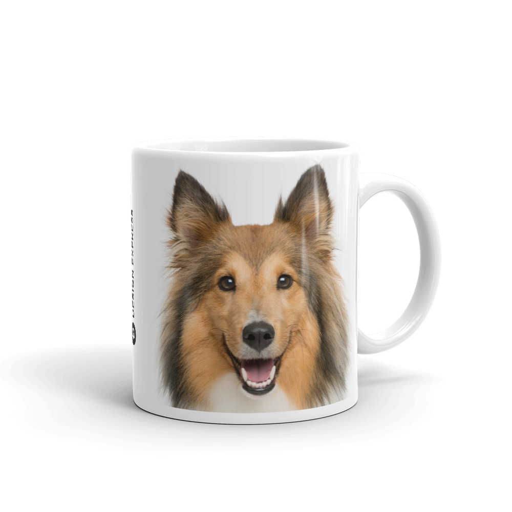 Default Title Shetland Sheepdog Mug by Design Express