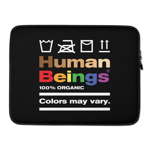 15 in Human Beings Laptop Sleeve by Design Express