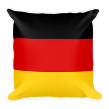 Default Title Germany Flag Square Pillow by Design Express