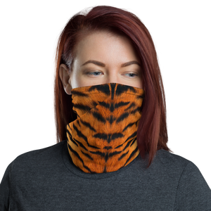 Default Title Tiger Texture Neck Gaiter Masks by Design Express