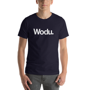 "Navy / S Wodu Media ""Everything"" Unisex T-Shirt by Design Express"