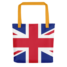 "Yellow United Kingdom Flag ""All Over"" Tote bag Totes by Design Express"