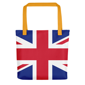 "United Kingdom Flag ""All Over"" Tote bag"