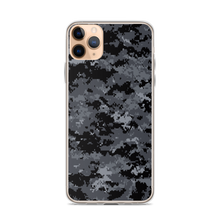 iPhone 11 Pro Max Dark Grey Digital Camouflage Print iPhone Case by Design Express
